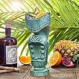 Mund Tiki Bechern Klauenhammer/Latthammer/600ml-Keramik Hawaiian Cocktail Becher
