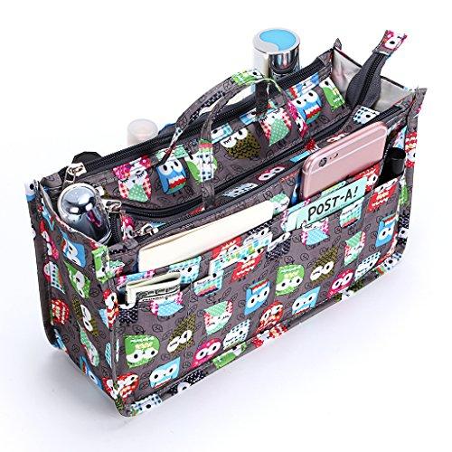 IGNPION - Organizador de bolso Multicolor búho