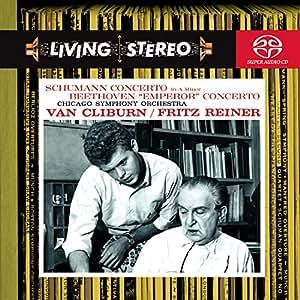 Schumann : Concerto pour piano / Beethoven : Concerto pour piano n° 5 'L'Empereur'