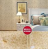 Türign Upgrate Moderne EinfachheitWEGOJKEuropäische Nicht Gewebt Tapete,Prägung MusterTapete,0.6 * 3m Dekoration Fernsehhintergrund/Schlafzimmer/Sofahintergrund/Hotel