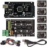 SainSmart 3D Printer KIT Mega2560 + 5 PCS A4988 + RAMPS 1.4 3D Printer Kit For Arduino RepRap