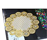 Kuber Industries Round Dining Place Mat Set Of 6 Pcs In Virgin Viny Soft Fabric (15*15 Inches)