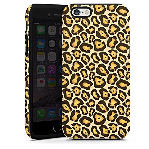 Apple iPhone 5 Housse Étui Silicone Coque Protection Jungle Animal Print Motif Motif Cas Tough terne