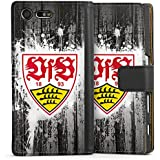 Sony Xperia X Compact Tasche Hülle Flip Case VfB Stuttgart Fanartikel Bundesliga Fußball