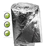 ISUM Dämmfolie MF 14 I Folie für Innendämmung + Außendämmung I Dämmmaterial für Dachdämmung, Fassadendämmung & Bodendämmung I Altbausanierung geeignet I 12 m²
