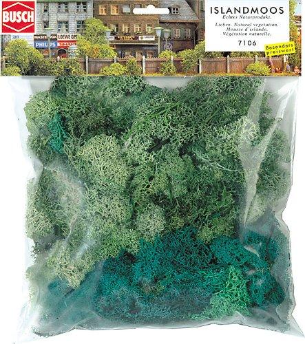 Hornby France - Busch - 7106 - Circuit - Train - Paquet géant de lichen
