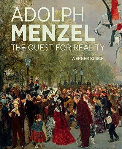 Adolf Menzel: The Quest for Reality (Garden Flag C)
