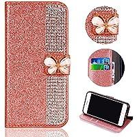 Shinyzone Glitzer Leder Brieftasche Hülle für Samsung Galaxy Note 9, Luxus Diamant Funkeln Handyhülle 3D Schmetterling... preisvergleich bei billige-tabletten.eu