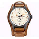 Curren Casual Watch For Men Analog Leather - CR8225W