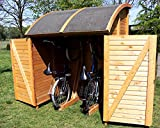Bikeport MARTIN Universalbox 155x159x205 cm Fahrradschuppen Fahrradgarage NEU