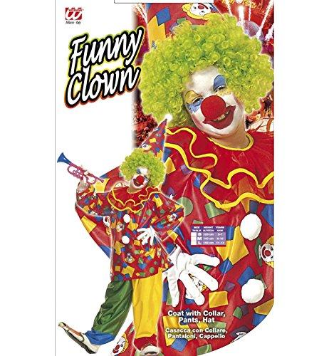 Imagen de widman  disfraz de payaso de circo para niño, talla 6 años 38586  alternativa