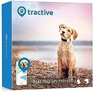 Tractive Localizzatore GPS per animali domestici, Bianco