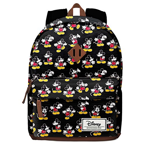 Imagen de karactermania disney classic mickey moving  tipo casual, 43 cm, 27 litros, negro