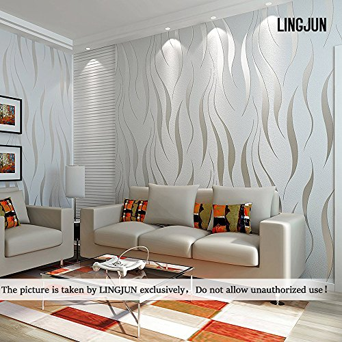 Wallpaper for living room for Silver wallpaper living room