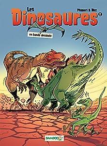 """Afficher """"Les Dinosaures en bande dessinée n° 02"""""""