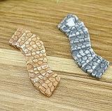 xinjiener Adornos de jardín de hadas para doblar la piedra, adorno para escalera, decoración de jardín Bonsai (2 piezas)