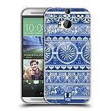 Head Case Designs Ingwertopf Chinesische Vase Muster Soft Gel Hülle für HTC One M8 / M8 Dual SIM
