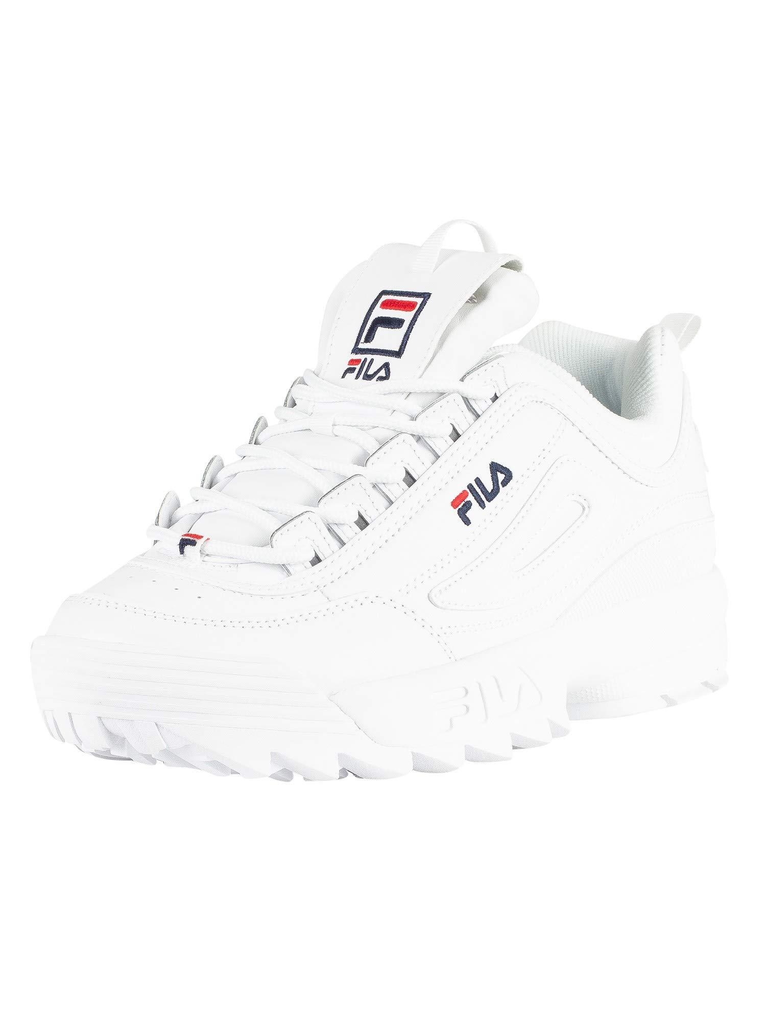 Fila Mujer Blanco Disruptor II Premium Zapatillas – LAS MEJORES ... fc3761b1bf6