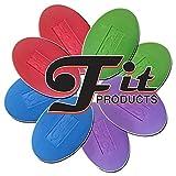 FitProducts Oval Balance Pads: Ideal für Physiotherapie, Pilates, Yoga, Kampfkunst Balance/Ausdauer/Kernstabilität/Krafttraining, Bewegungsrehabilitation und vieles mehr!
