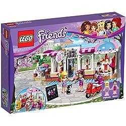 LEGO Friends - Cafetería Cupcake de Olivia, juguete creativo de construcción con detalles para crear tu propia pastelería (41366)