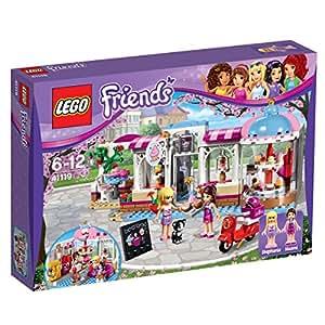 lego friends 41119 heartlake cupcake caf spielzeug f r 6 j hrige spielzeug. Black Bedroom Furniture Sets. Home Design Ideas
