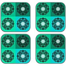 MeSleep Verde Di Legno Decorativo Astratto Arte Tè Coppe Bere