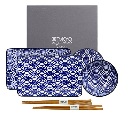 Nippon Blue Plate set, Japan