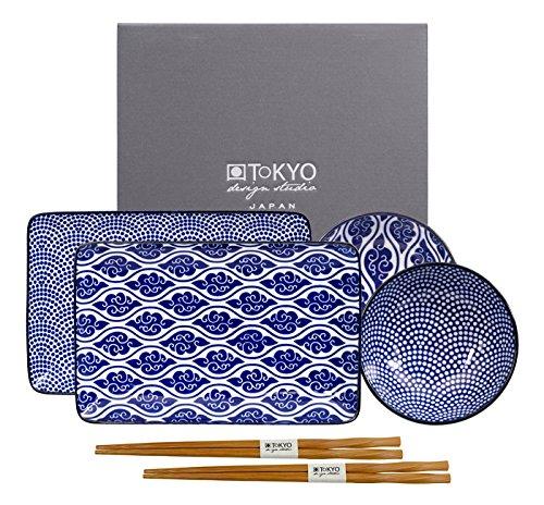 Tokyo Design Studio, Sushi Set, 6-teilig, Japan