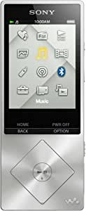 Sony NWZ-A15 Lecteur MP3 Hi-Res Audio, 16Go - Argent