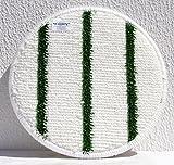 Queen Bonnet teppichpad Bianco/Verde 13pollici–330mm
