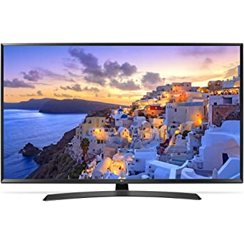 LG 49UJ635V 123 cm (49 Zoll) Fernseher (Ultra HD, Triple Tuner, Active HDR, Smart TV)