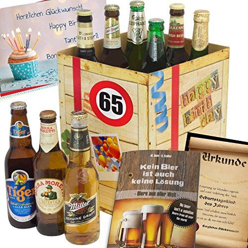 geschenk ideen zum 65 f r m nner bier aus aller welt. Black Bedroom Furniture Sets. Home Design Ideas