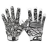Cutters S150 Game Day Receiver Handschuhe Jugend und Senior - Weiß Gr. M