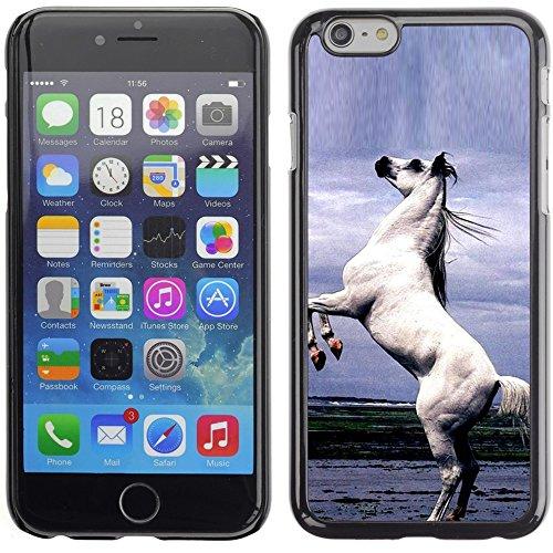 Graphic4You Pferd Tier Design Harte Hülle Case Tasche Schutzhülle für Apple iPhone 6 Plus / 6S Plus Design #9