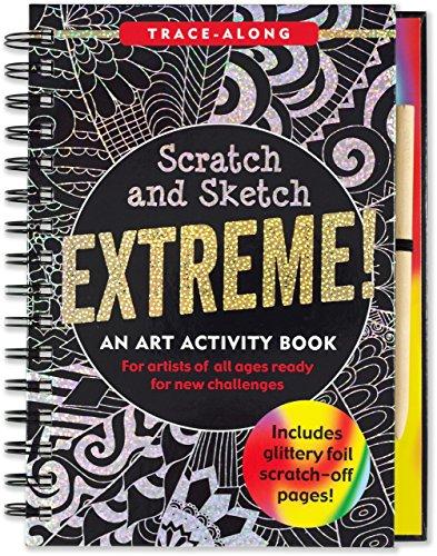 Scratch & Sketch Extreme (Trace Along) (Sketch Scratch And Books)