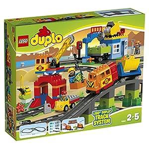 lego 10508 duplo jeu de construction mon train de luxe jeux et jouets. Black Bedroom Furniture Sets. Home Design Ideas