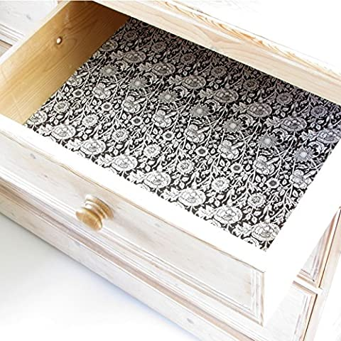 Luxury Sandalwood Scented Drawer Liners in a timeless William Morris