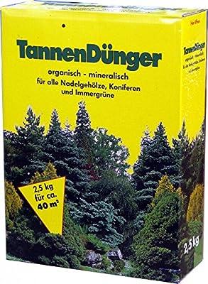 Tannendünger 4x 2,5 kg = 10kg Gehölzedünger Strauchdünger Nadelhölzer Koniferendünger Dünger GPI von GPI - Du und dein Garten