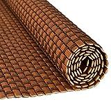 JU FU Rollo Bambus Vorhang - natürliche Nanmu Kordelzug Bambus Vorhang staubdicht und Wasserdicht Hohlen Tee Zimmer Shutter [3 Farben 16 Größen] @ (Farbe : A, größe : 135x225CM)