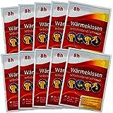 10-er Set Wärmepflaster 8h, Wärmekissen Schmerzpflaster Wärmepads Rückenwärmer Exklusiv von M&H-24