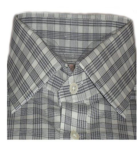 thomas-pink-mens-white-with-blue-bantock-check-cotton-double-cuff-blue-shirt-sz-155r