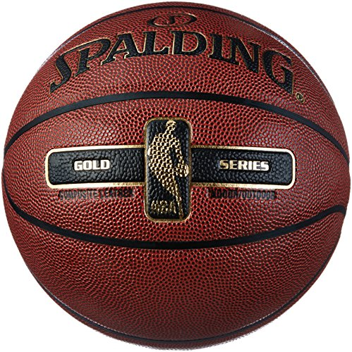 Spalding Nba Gold In/Out 76-014Z Balón de Baloncesto, Unisex, Naranja, 7