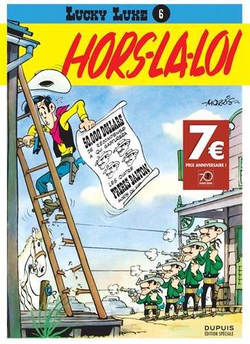Lucky Luke - tome 6 - Lucky Luke T6 Opé 70 ans