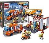 Ingenious Toys QM express kurier päckchen lieferung / 337 teile passend bauklötze #1119