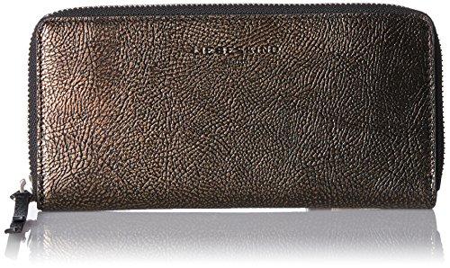 Liebeskind Berlin Damen Sallyw7 Zipper Geldbörse, Gold (Bronze), 3x10x19 cm (Geldbörse Bronze Damen)