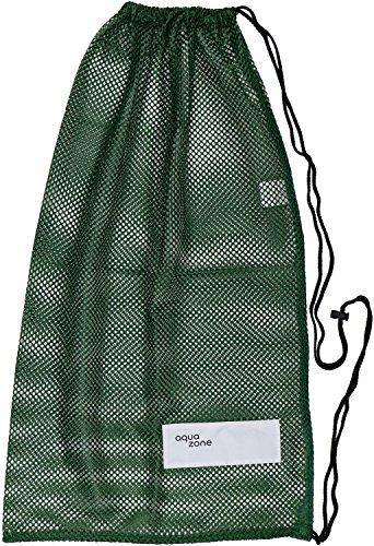 Kordelzug Sports Equipment Mesh Tasche für Schwimmen Strand Tauchen Travel Gym, grün