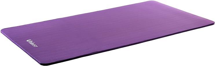 Unibest Fitnessmatte Gymnastikmatte Yogamatte Turnmatte NBR-Matte 190x80x1,5cm