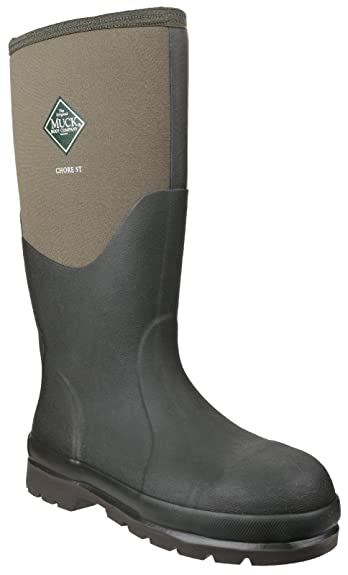 Muck Boots Unisex Adults' Chore Steel Toe Safety Wellingtons ...