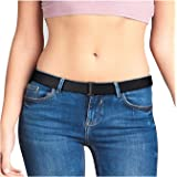 Beltaway Belt Women's Buckle Belt Square Stretch & Invisible