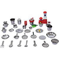 JST 31 Pieces Mini Stainless Steel Utensils/ Mini Kitchen Set/ Great Kitchen Toys for Kids/ Best Gift Items.